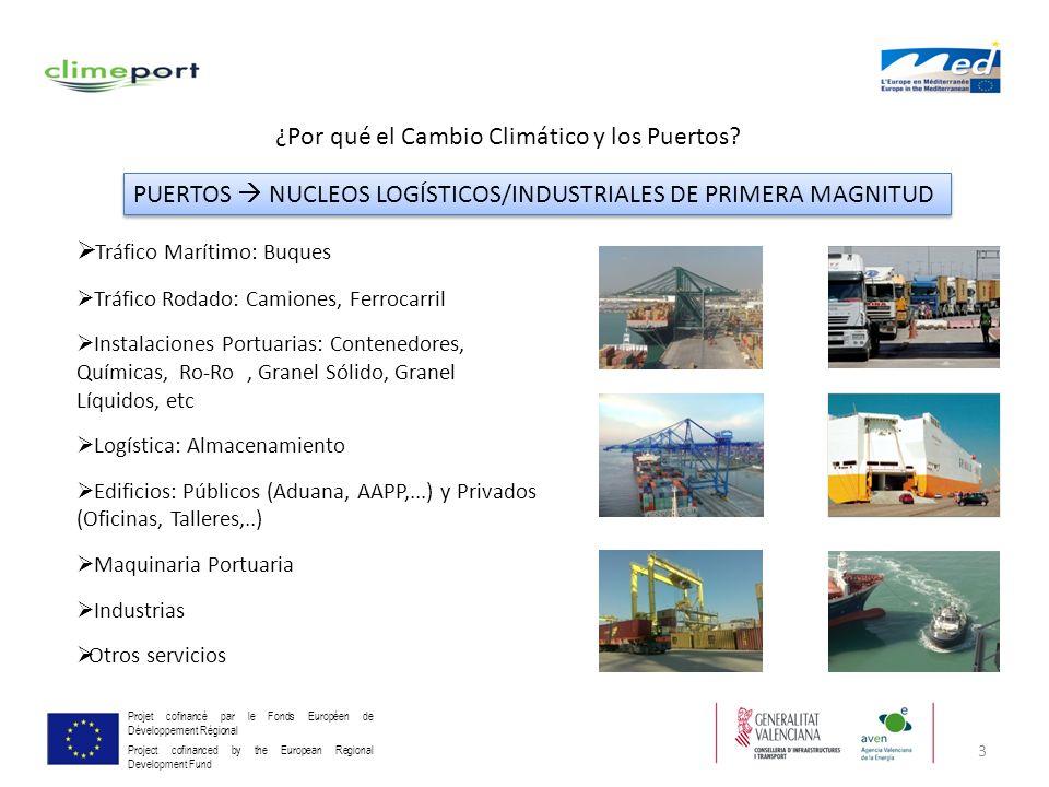 3 Projet cofinancé par le Fonds Européen de Développement Régional Project cofinanced by the European Regional Development Fund ¿Por qué el Cambio Cli