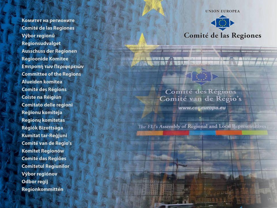 Función del Comité de las Regiones dar voz a los entes regionales y locales en la redacción de la legislación de la UE (el 70 % de la legislación de la UE se aplica a nivel regional o local) acercar Europa a los ciudadanos y fomentar una cultura de la subsidiariedad servir de lugar de encuentro en el que las regiones y ciudades puedan compartir las mejores prácticas y participar en el diálogo con las instituciones europeas