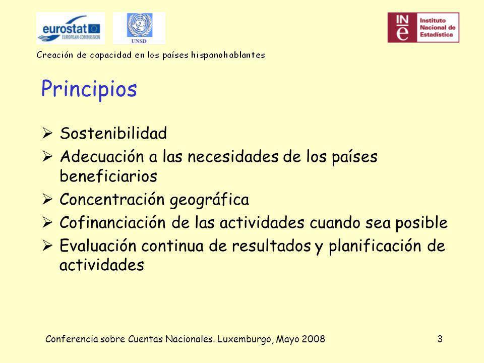 Conferencia sobre Cuentas Nacionales.