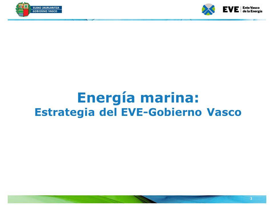 Unidad Editoral Conferencias y Formaciónwww.conferenciasyformacion.com 3 Energía marina: Estrategia del EVE-Gobierno Vasco