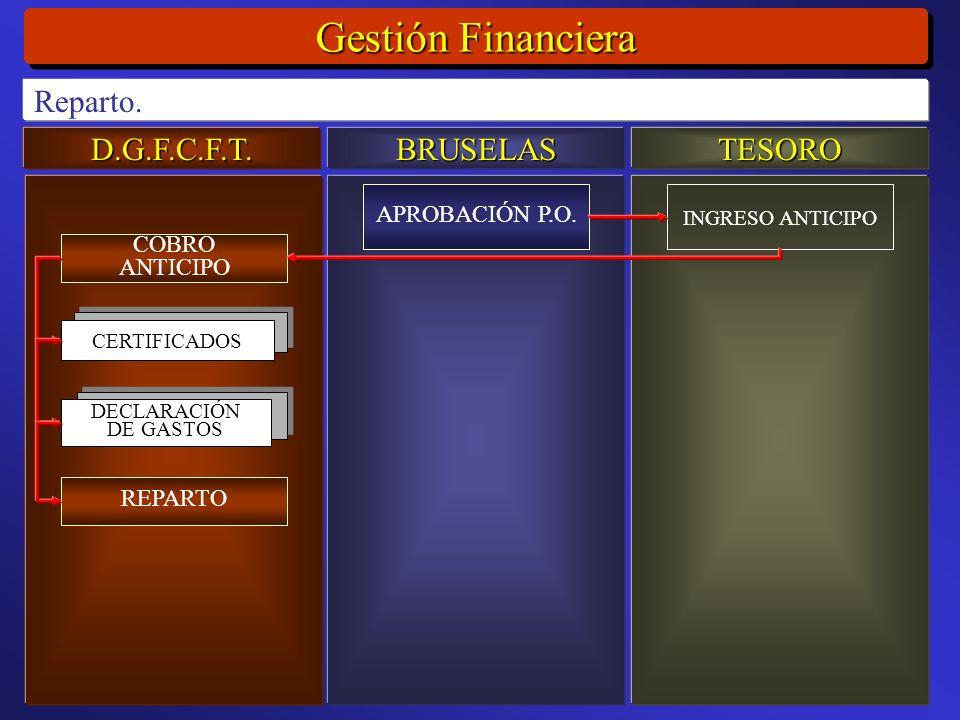 D.G.F.C.F.T.BRUSELASTESORO Gestión Financiera Reparto.