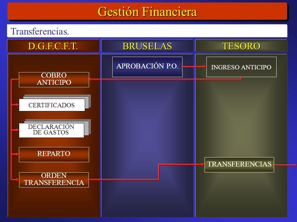 D.G.F.C.F.T.BRUSELASTESORO Gestión Financiera Transferencias.