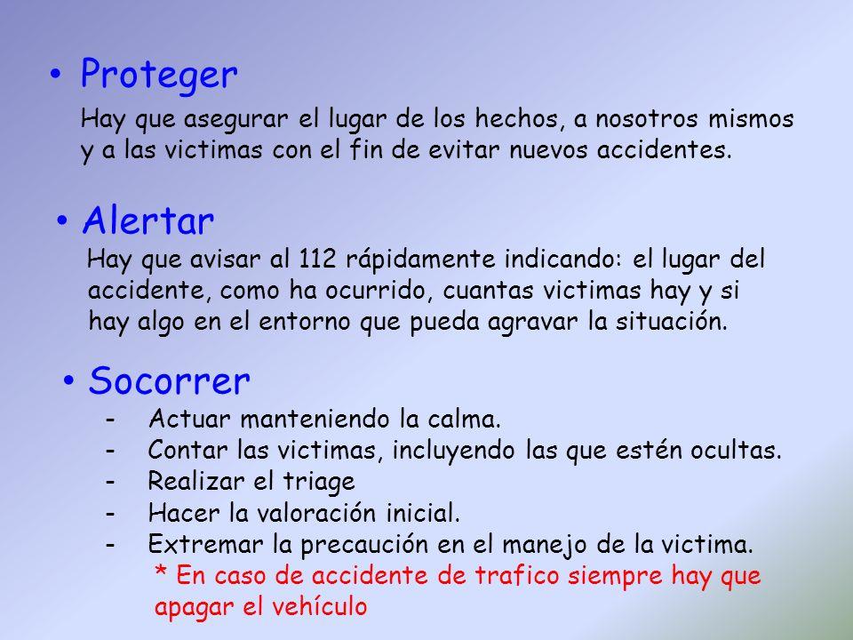 TRIAGE Concepto: Proceso de clasificación de victimas basándose en las prioridades de atención.