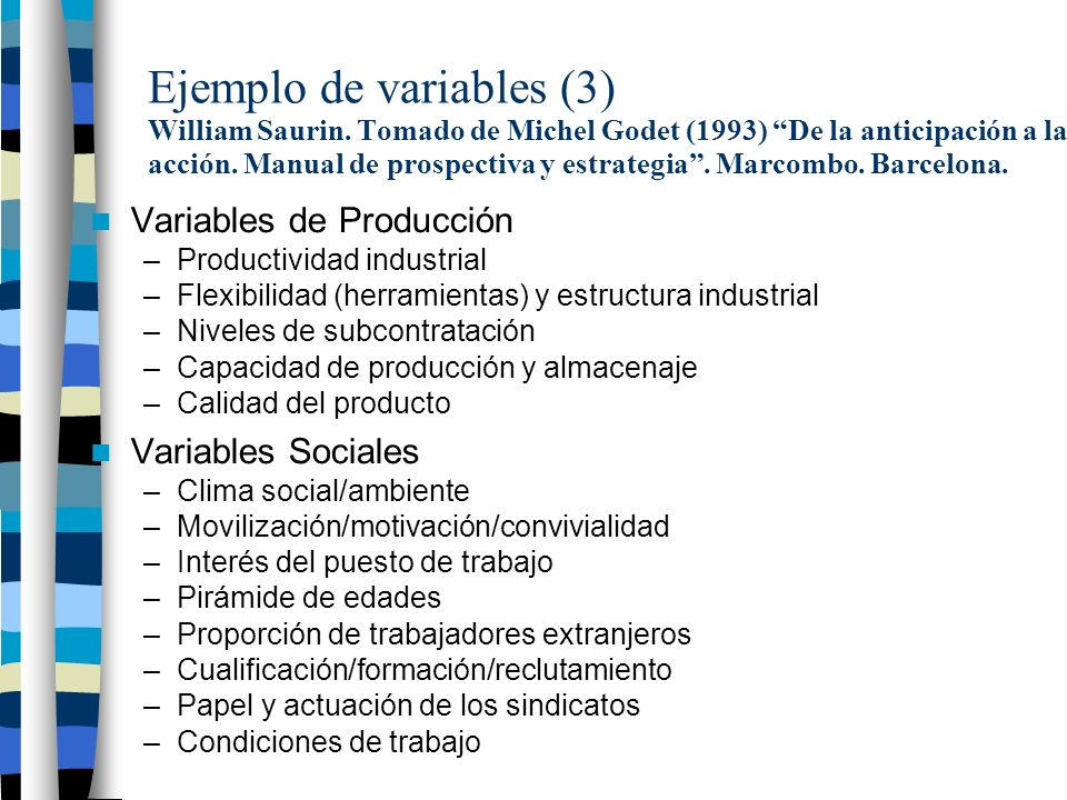 Ejemplo de variables (3) William Saurin.