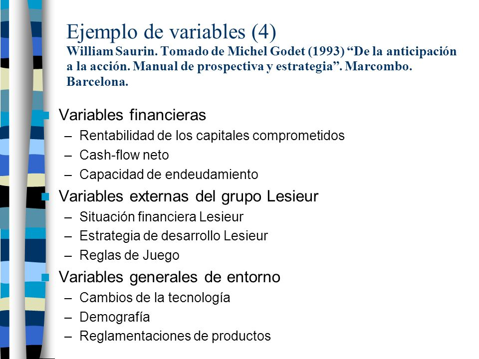 Ejemplo de variables (4) William Saurin.