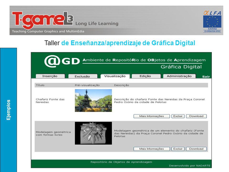 Ejemplos Taller de Enseñanza/aprendizaje de Gráfica Digital