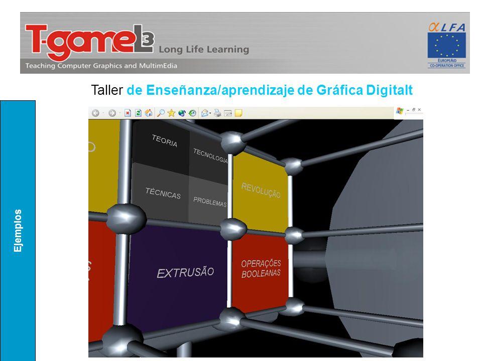 Ejemplos Taller de Enseñanza/aprendizaje de Gráfica Digitalt