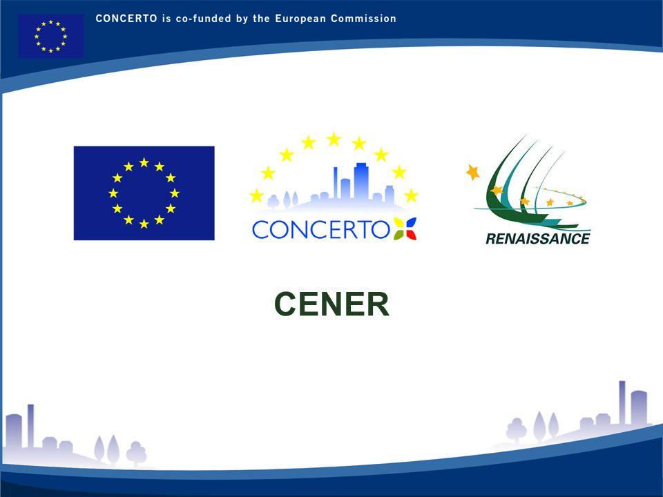 RENAISSANCE es un proyecto del programa CONCERTO co-financiado por la Comisión Europea dentro del Sexto Programa Marco RENAISSANCE - ZARAGOZA - SPAIN 7 CENER