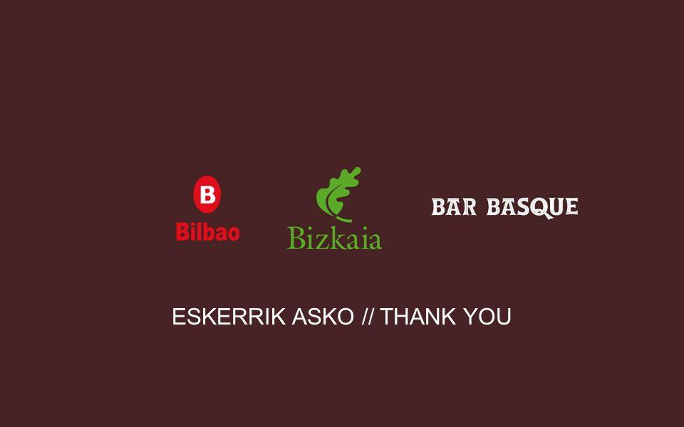 ESKERRIK ASKO // THANK YOU