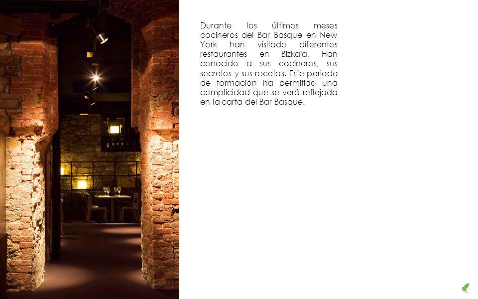 Durante los últimos meses cocineros del Bar Basque en New York han visitado diferentes restaurantes en Bizkaia.