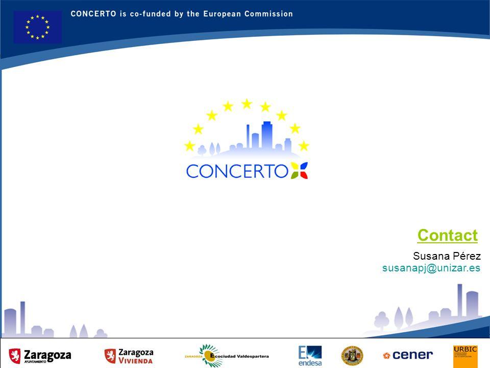 RENAISSANCE es un proyecto del programa CONCERTO co-financiado por la Comisión Europea dentro del Sexto Programa Marco RENAISSANCE - ZARAGOZA - SPAIN 8 Susana Pérez susanapj@unizar.es Contact