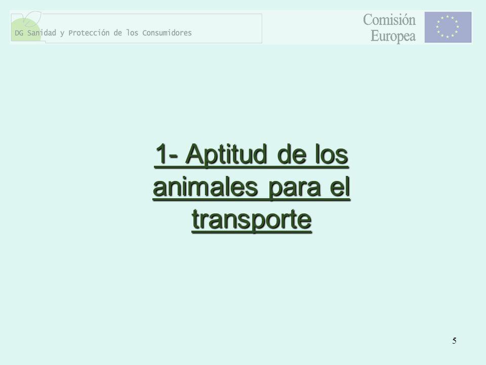 6 ¿Es la salud de los animales que se hallan en el camión suficientemente buena para ser transportados?¿Es la salud de los animales que se hallan en el camión suficientemente buena para ser transportados.