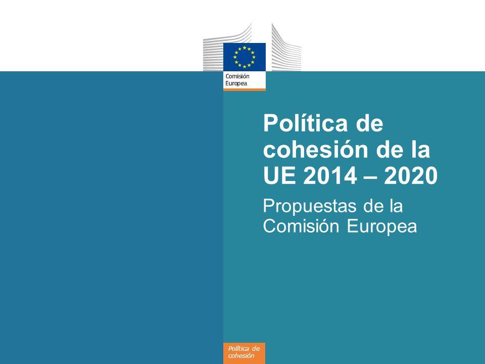12 Uso más coherente de los fondos disponibles de la UE Estrategia de inversión exhaustiva: en concordancia con los objetivos de Europa 2020 Coherencia con los programas de reforma nacionales Coordinación: política de cohesión, desarrollo rural, fondos marítimos y pesqueros Objetivos e indicadores para medir el progreso hacia las metas de Europa 2020 Efectividad: introducción de un marco de rendimiento Eficiencia: refuerzo de la capacidad administrativa, reducción de trámites burocráticos Programas operativos Contrato de colaboración Marco Estratégico Común