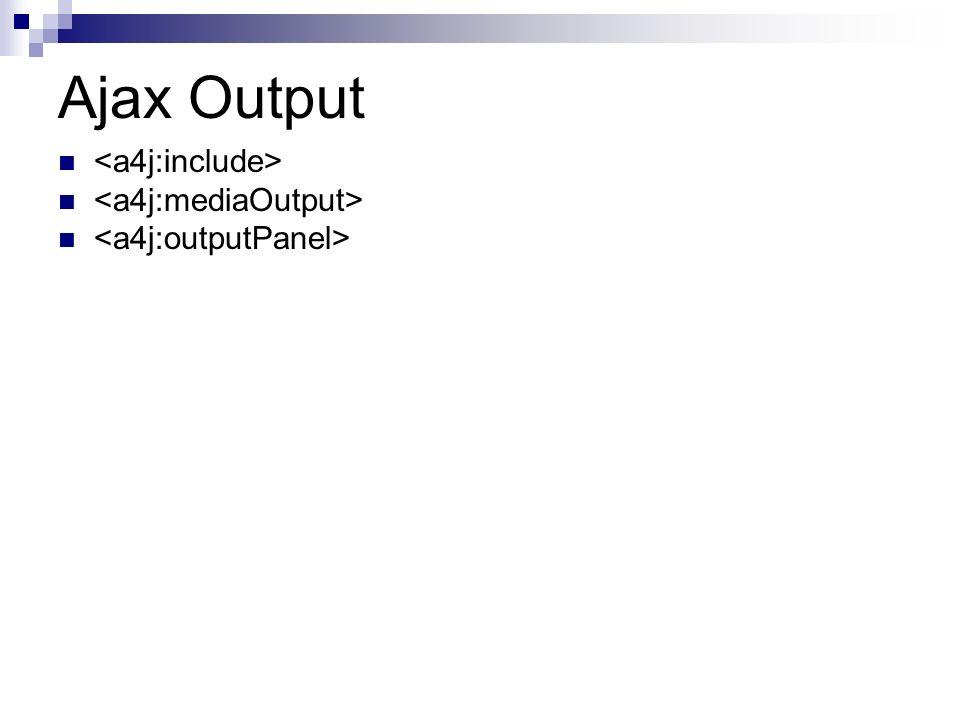 Ajax Output