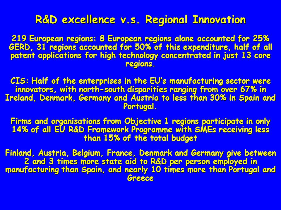 New objectives An attractive Regional Image based on the regions own identity in the global economy in order to consolidate and attract a pool of talents and effectively sell the quality of life and their educational, technological and research environment Attract branch plants or qualified professionals.