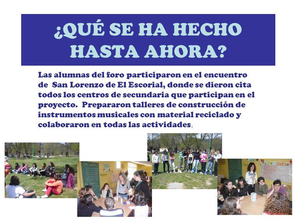 Los alumnos del foro realizaron una jornada de concienciación donde presentaron sus trabajos en residuos y en aplicación de los principios de sostenibilidad en la organización de la fiesta de carnaval.