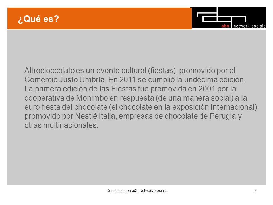 ¿Qué es. Altrocioccolato es un evento cultural (fiestas), promovido por el Comercio Justo Umbría.