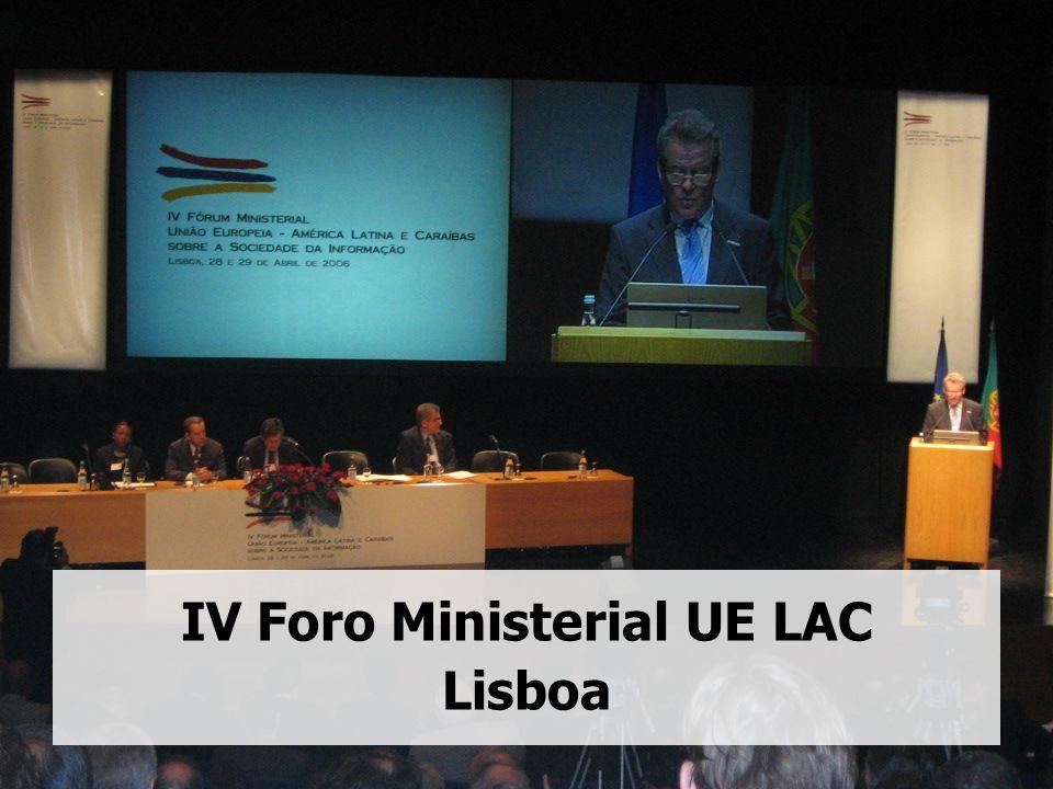 IV Foro Ministerial UE LAC Lisboa
