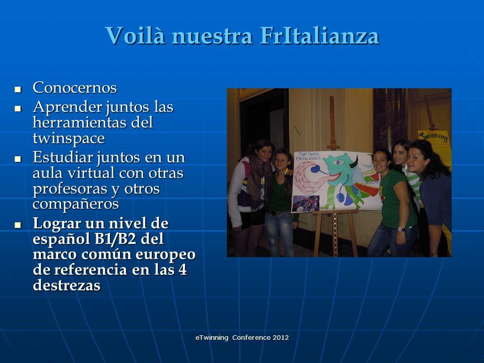 eTwinning Conference 2012 Etapas para conocernos 1.Esta parte del título es una mezcla de lenguas que son los idiomas que hemos logrado aprender gracias a la alianza o sea a las colaboración que se ha construido en las primeras 3 etapas para un conocimiento mutuo.