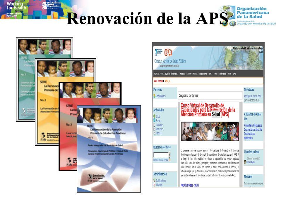 Renovación de la APS
