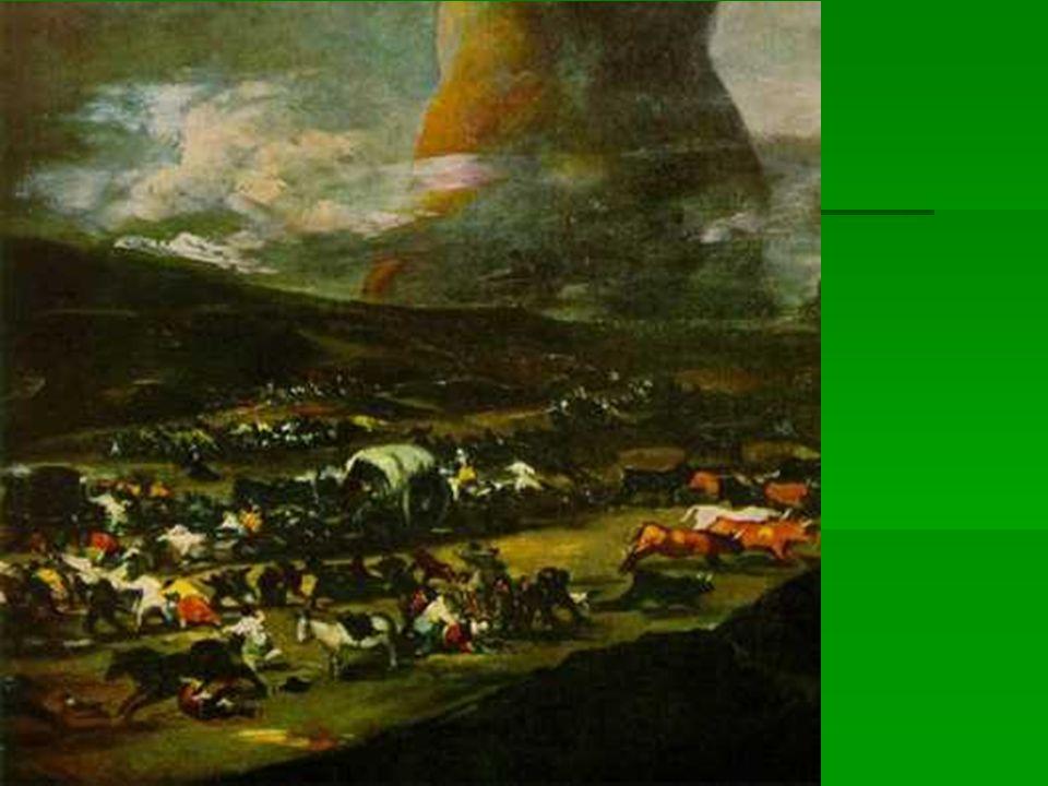 El gigante como símbolo de Napoleón, o simplemente de los horrores de la guerra? El gigante como símbolo de Napoleón, o simplemente de los horrores de
