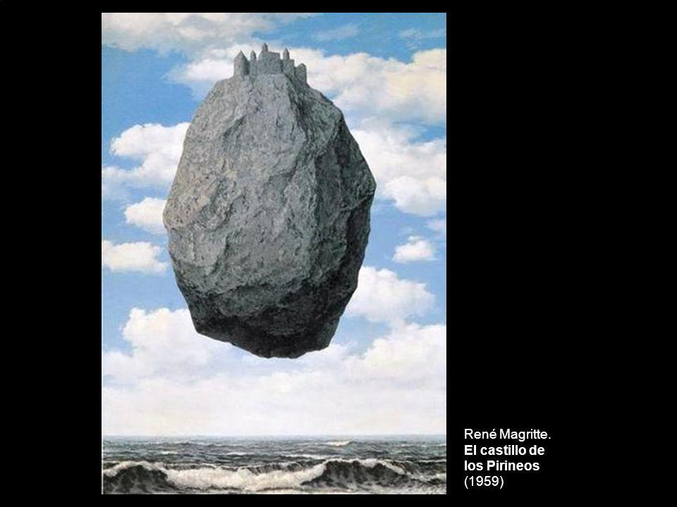 René Magritte. El castillo de los Pirineos (1959)