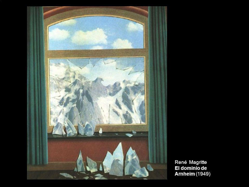 René Magritte El dominio de Arnheim (1949)