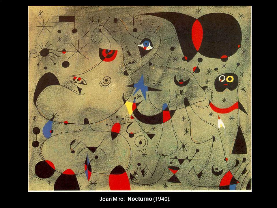Joan Miró. Nocturno (1940).