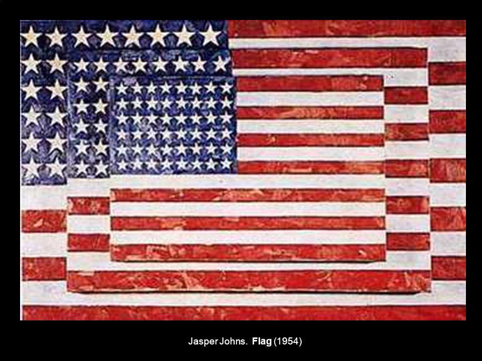 Jasper Johns. Flag (1954)