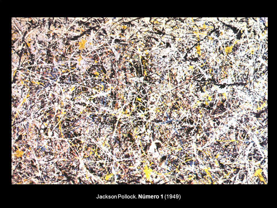 Jackson Pollock. Número 1 (1949)