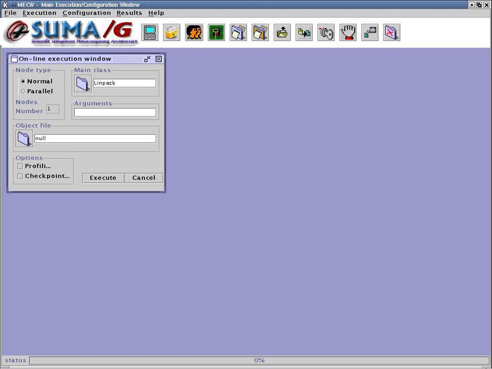 Autenticación de un usuario Autenticación de un usuario Generación y Borrado de un Proxy de larga duración Generación y Borrado de un Proxy de larga duración Generación y Borrado de un Proxy Básico Generación y Borrado de un Proxy Básico Obtener listado de tareas del usuario Obtener listado de tareas del usuario Ver estado de una tarea Ver estado de una tarea Envío de archivos Envío de archivos Ejecución de una tarea o programa Ejecución de una tarea o programa Obtener resultados de una tarea Obtener resultados de una tarea