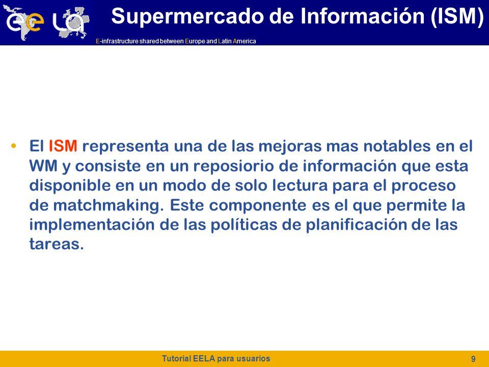 E-infrastructure shared between Europe and Latin America Tutorial EELA para usuarios 40 NodeNumber NodeNumber (Obligatorio si el tipo de trabajo se definió como JobType=MPICH) Es un número entero que especifica el número de nodos necesarios para un trabajo MPI.