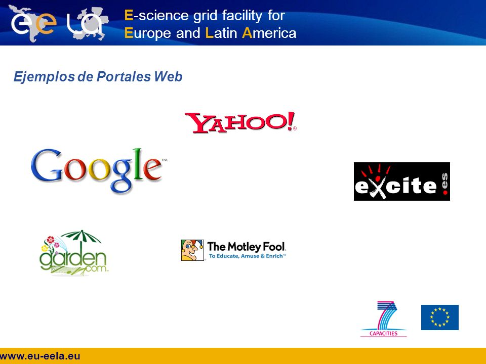 www.eu-eela.eu E-science grid facility for Europe and Latin America ¿Portal Grid.