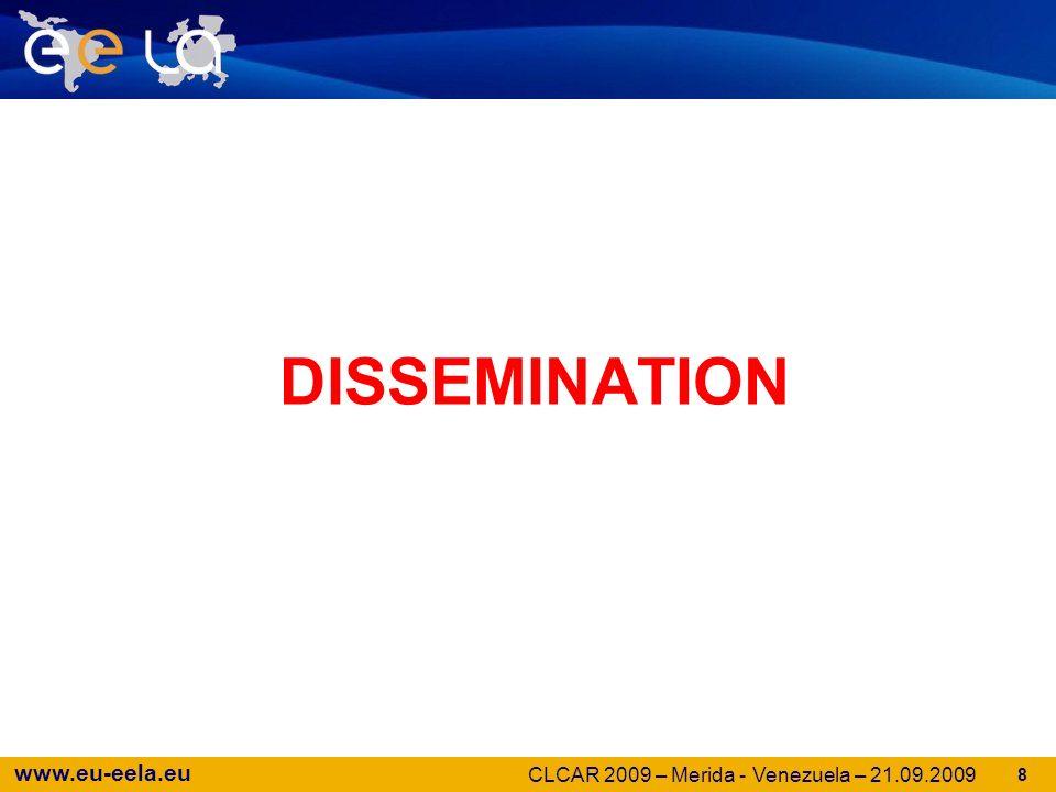 www.eu-eela.eu 39 Questions … CLCAR 2009 – Merida - Venezuela – 21.09.2009