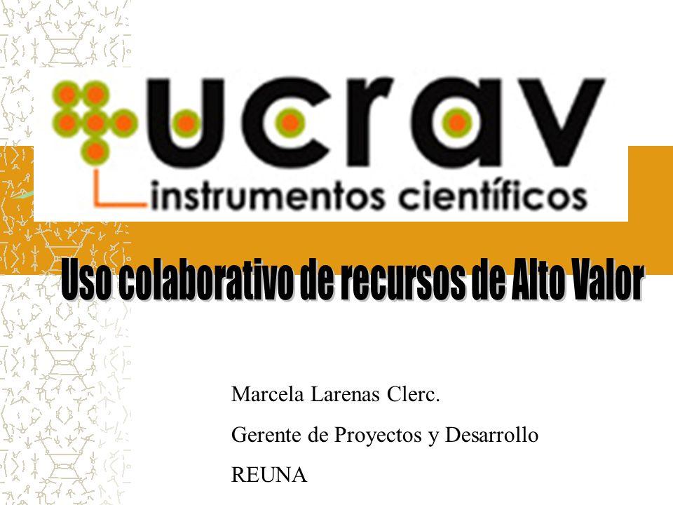 Marcela Larenas Clerc. Gerente de Proyectos y Desarrollo REUNA