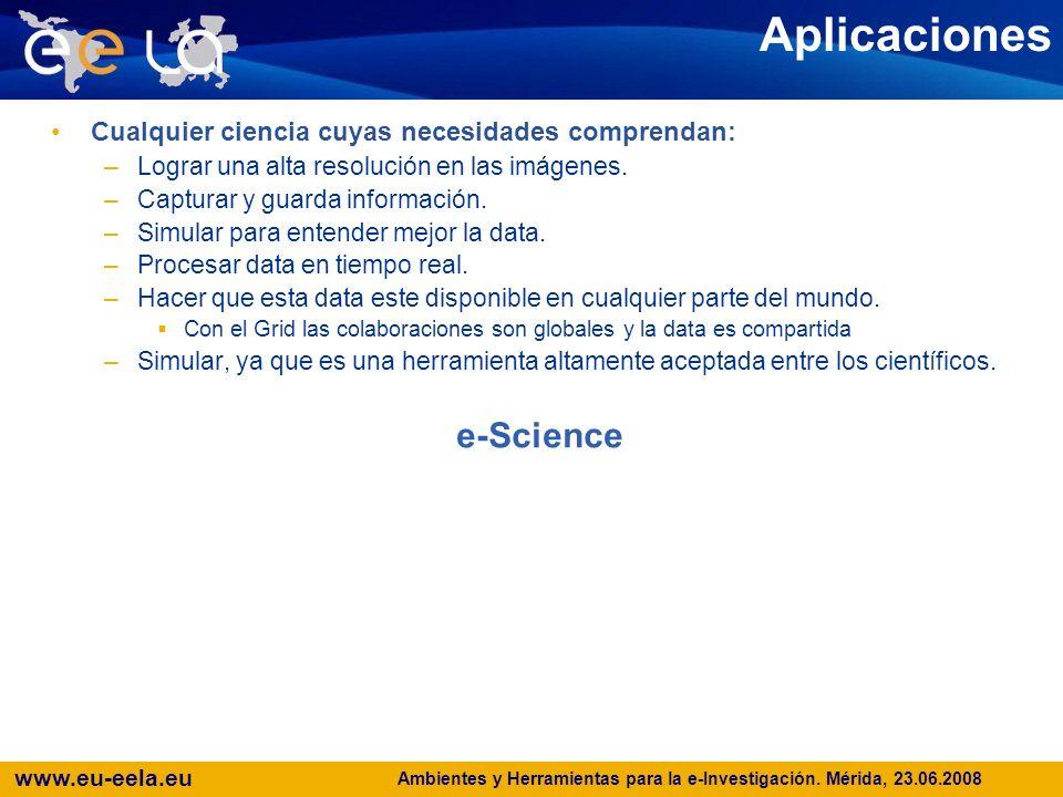 www.eu-eela.eu E-science grid facility for Europe and Latin America Estado actual de la seguridad en ambientes Grid