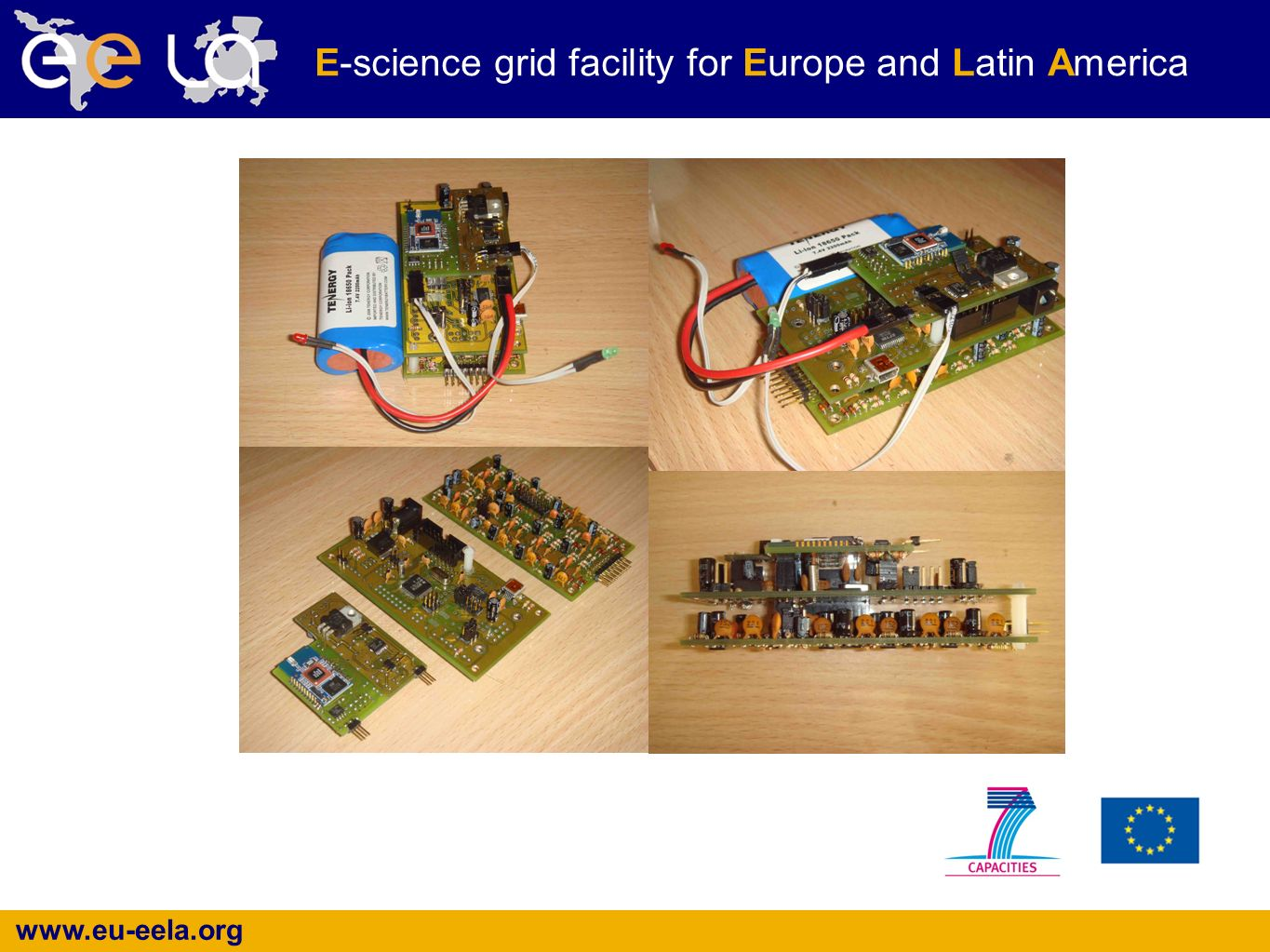 www.eu-eela.org E-science grid facility for Europe and Latin America