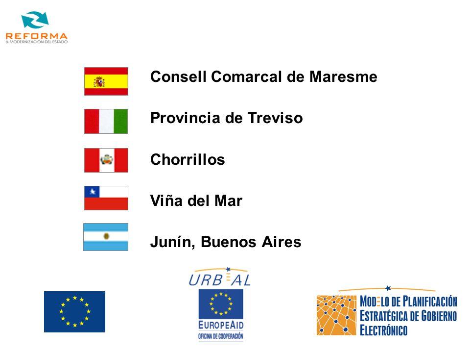 Socios Consell Comarcal de Maresme Provincia de Treviso Chorrillos Viña del Mar Junín, Buenos Aires