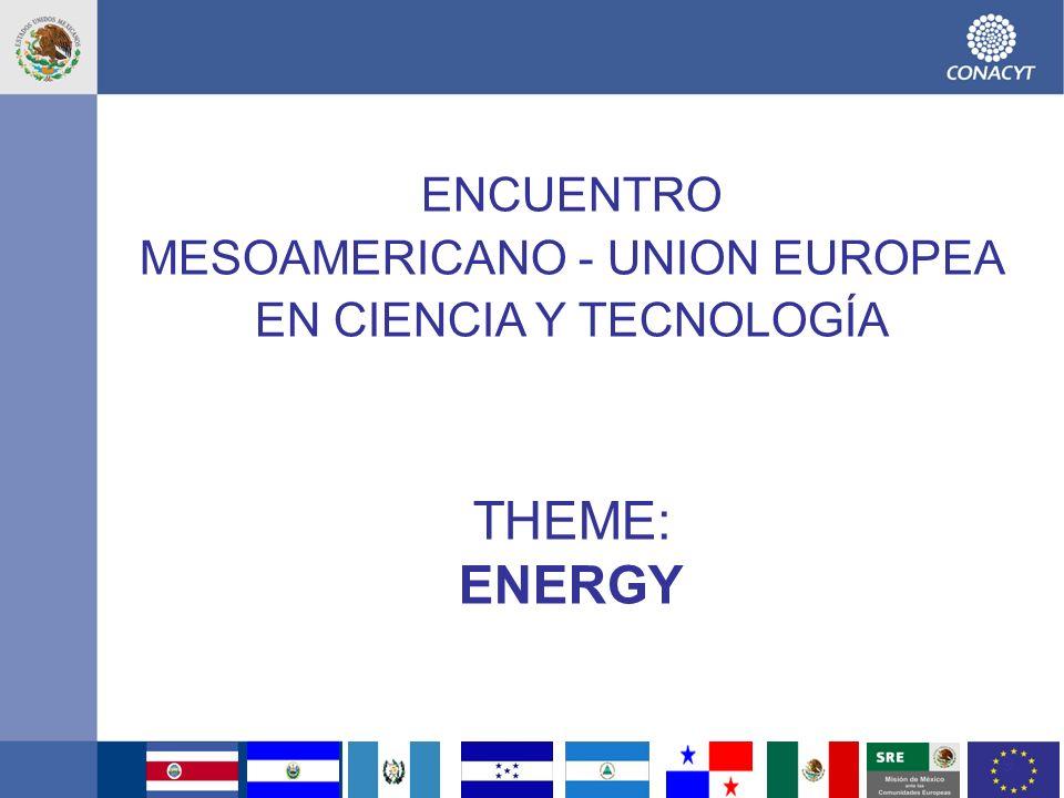 10 ENERGY Fortalezas: –Existe una estrategia regional consensuada a nivel Región CA.
