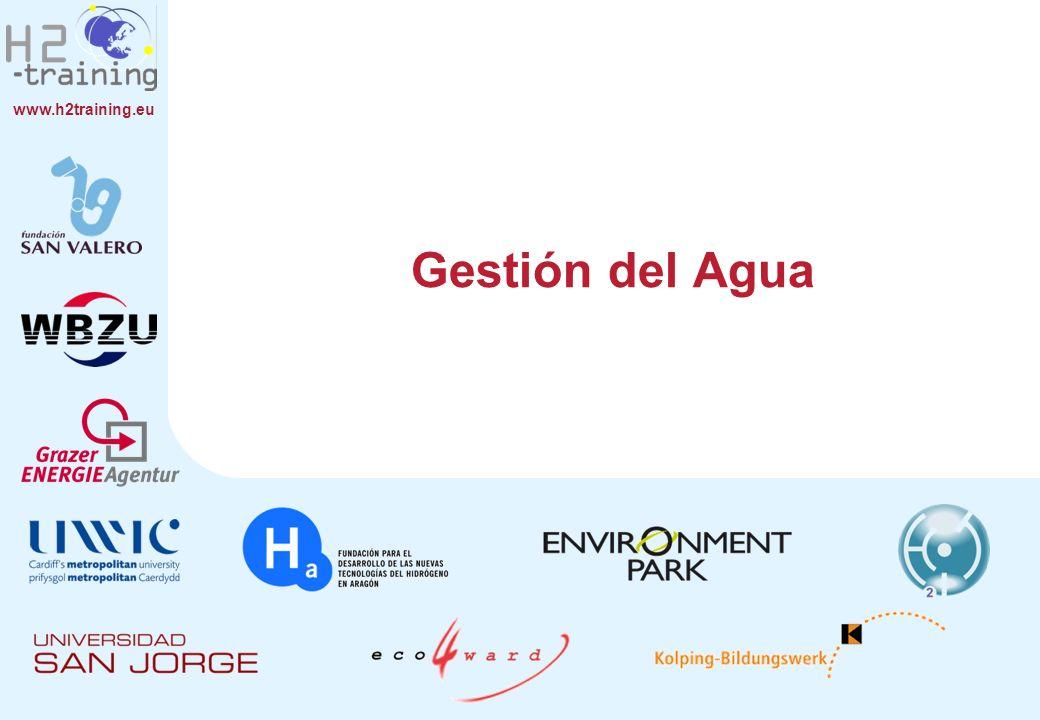 www.h2training.eu Gestión del Agua