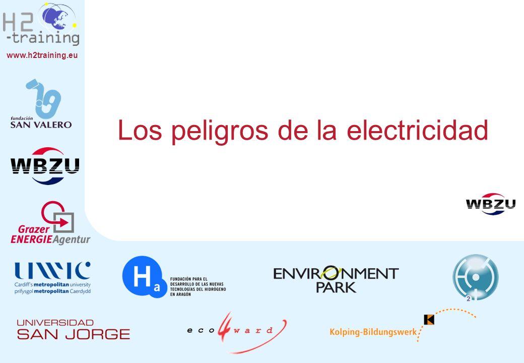 www.h2training.eu Flujo de corriente eléctrica en caso de fallos.