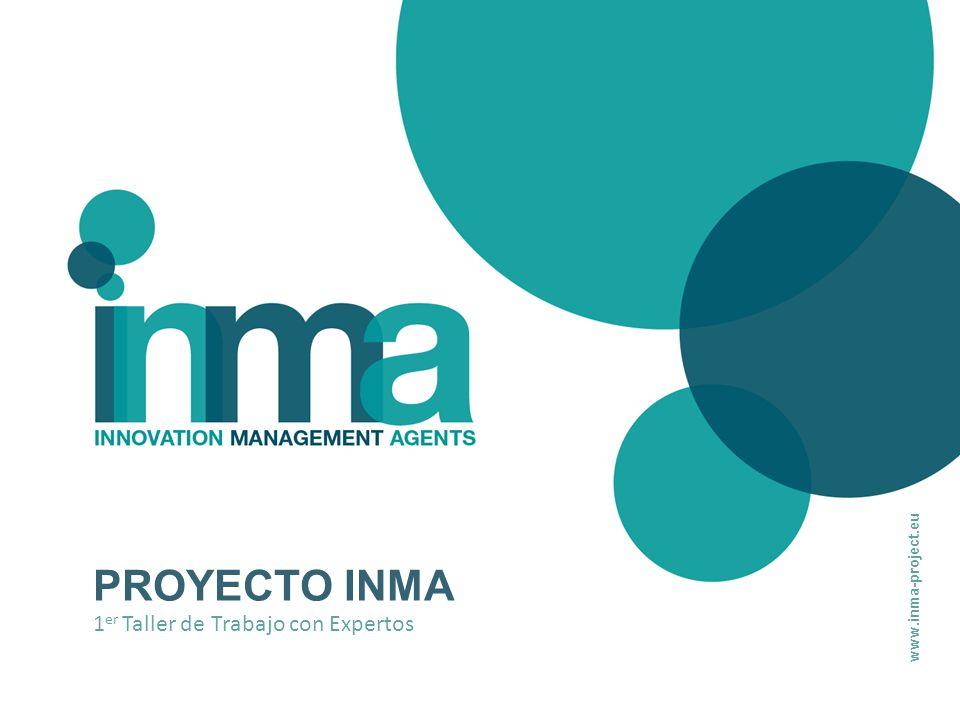 PROYECTO INMA 1 er Taller de Trabajo con Expertos www.inma-project.eu