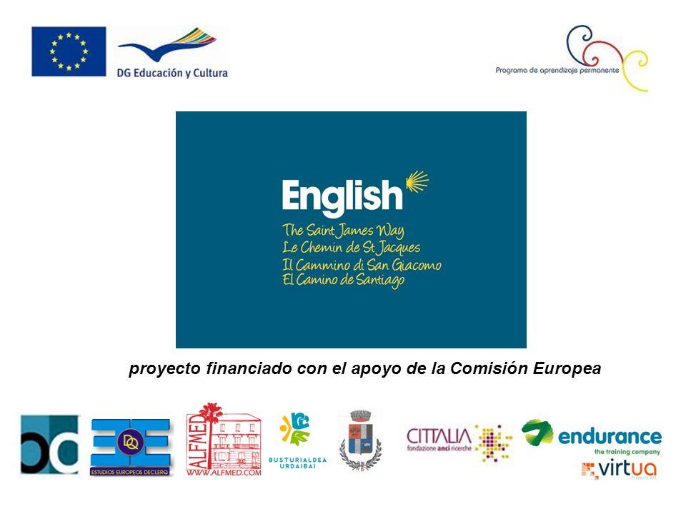 proyecto financiado con el apoyo de la Comisión Europea