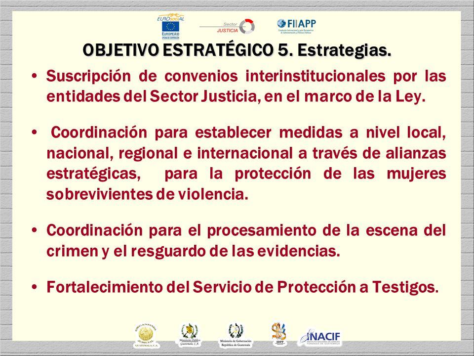 OBJETIVO ESTRATÉGICO 6.Estrategias.