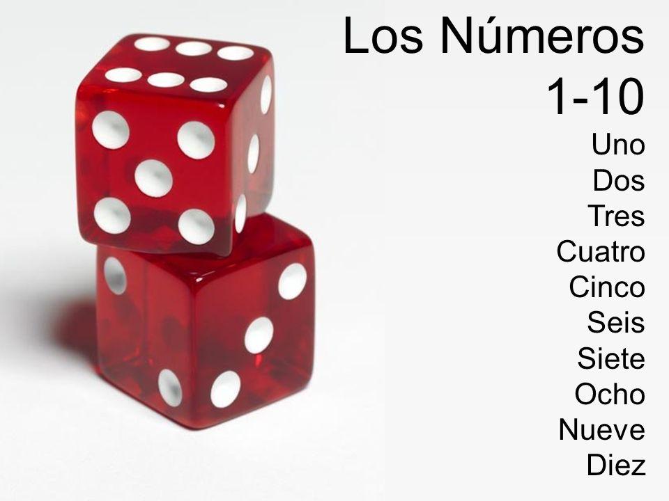1-10 Uno Dos Tres Cuatro Cinco Seis Siete Ocho Nueve Diez
