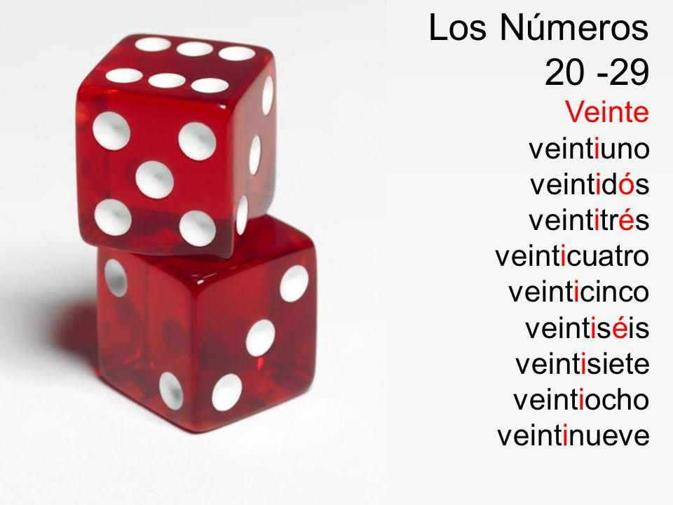 Los Números 30 --- Treinta Treinta y uno Treinta y dos Treinta y tres Treinta y cuatro Treinta y cinco Treinta y seis Treinta y siete Treinta y ocho Treinta y nueve