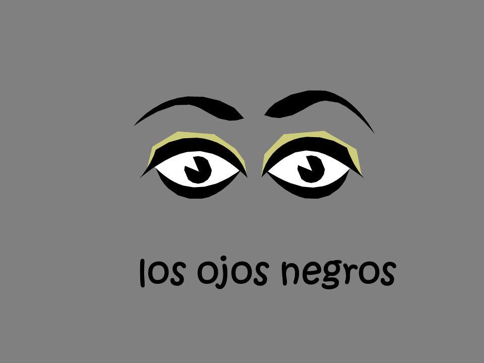 los ojos negros