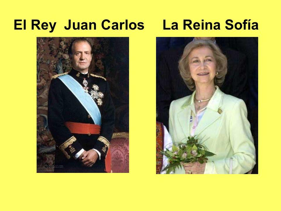 El Rey Juan CarlosLa Reina Sofía