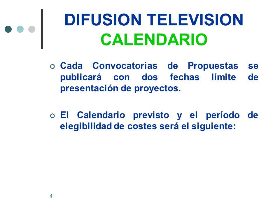 25 DIFUSION TELEVISION Criterios de concesión 4.