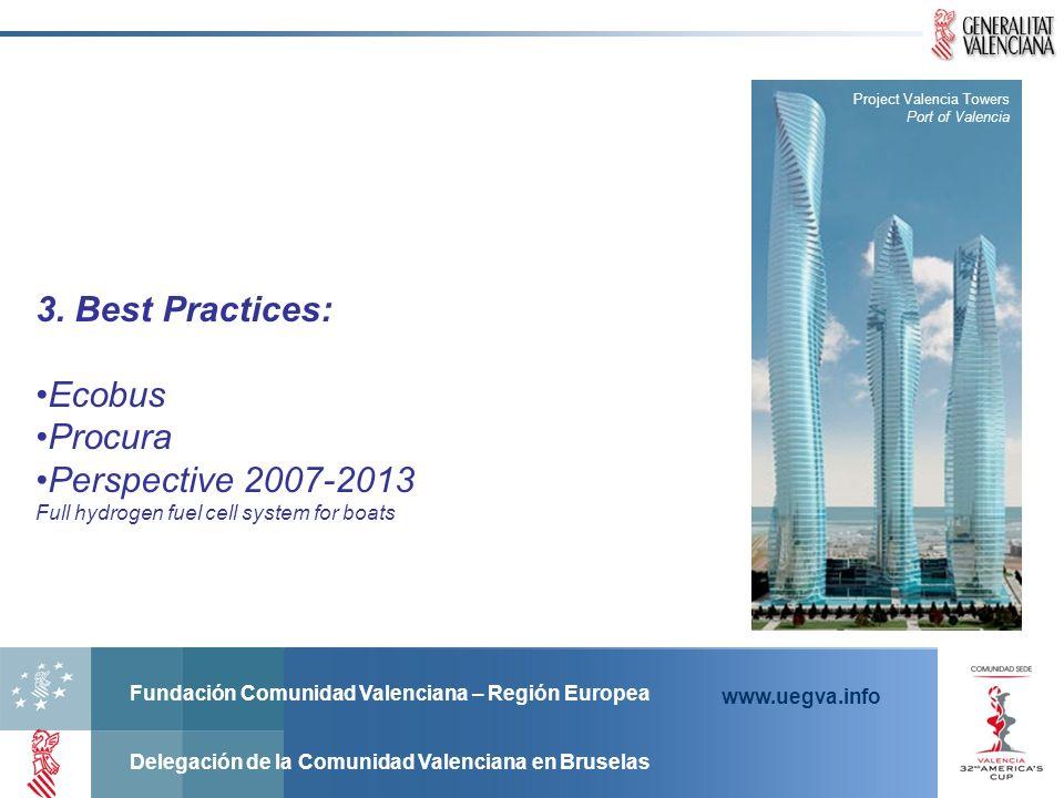 Fundación Comunidad Valenciana – Región Europea Delegación de la Comunidad Valenciana en Bruselas www.uegva.info Project Valencia Towers Port of Valen